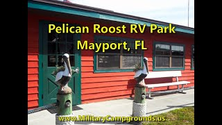 Tour of Pelican Roost RV Park at Mayport Naval Station, Florida