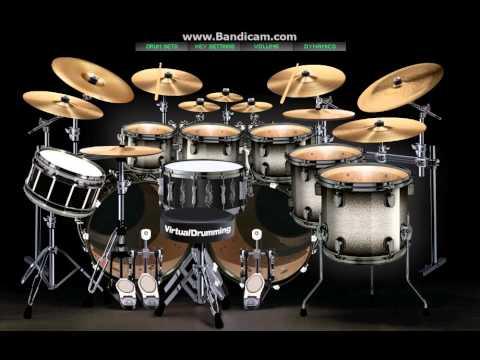 Batang Bata ka Pa - Sugarfree Drum cover (Virtual Drumming)
