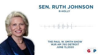 Sen. Johnson discusses her