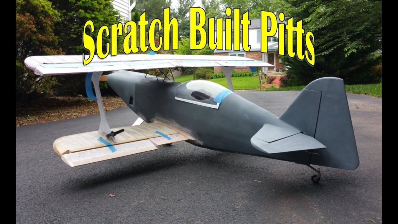 RC Scratch Building - Fiberglass Fuselage Framing - YouTube