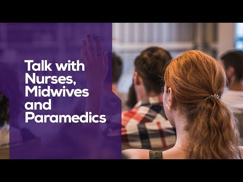 Talk With Nurses, Midwives And Paramedics