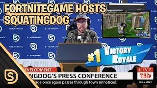FortniteGame Hosts Squatingdog (Edit by: Pirate Monkey Painting)