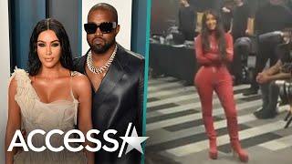Kim Kardashian & Kids Support Kanye West At 'Donda' Listening Party