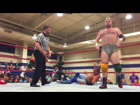 Dirty Blonds with Robert Fuller vs Jimmy Golden & Dennis Gale with Ron Fuller
