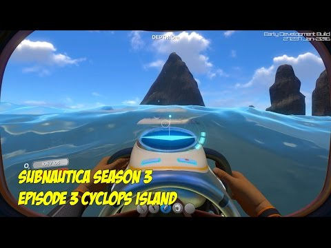 Subnautica 1440p Season 3 Episode 3 Cyclops Island