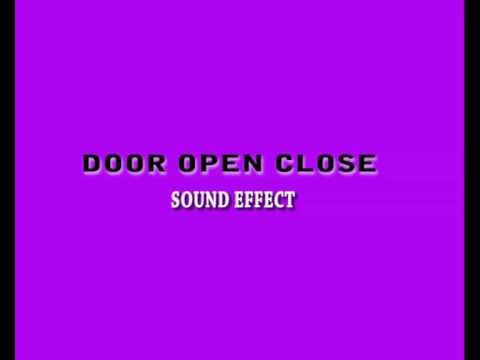 Sound effect door open close youtube for Door opening sound effect