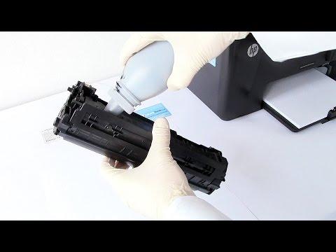 Hp Printer Laserjet Pro Mfp M126nw Unboxing Amp Setup Doovi