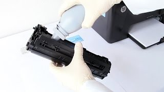 How to refill your HP Pro M125a, M125nw, M127fn, M127fw, M201n, M201dw, M225dn(Avoid throwing money away and halve CO2 by learning how to refill the HP Pro M125a cluster of printers (HP 83A cartridge). U Refill Toner, the UK based ..., 2015-03-30T13:13:44.000Z)