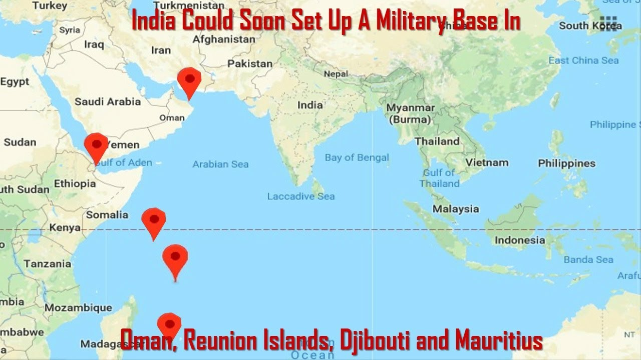 India could soon set up a military base in oman and djibouti says india could soon set up a military base in oman and djibouti says report gumiabroncs Gallery