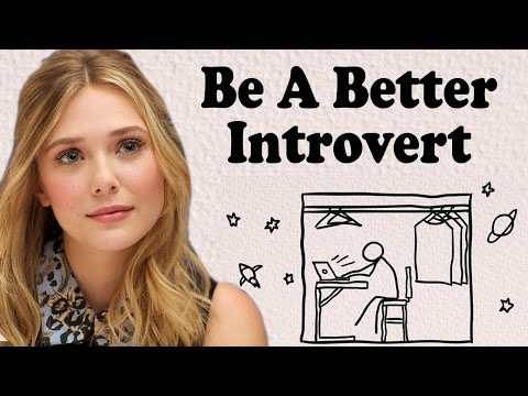 Thumbnail: ARE YOU AN INTROVERT? Signs and Traits of Introversion and How To Be Better Socially