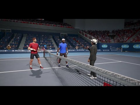 Stan wawrinka vs Frances Tiafoe ATP Basel 19 AO International Tennis