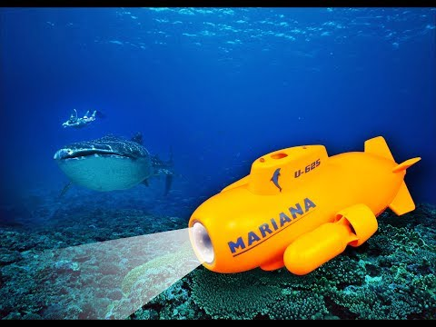 ThorRobotics Underwater Drone Mini Mariana RC Submarine HD Underwater Camera FPV