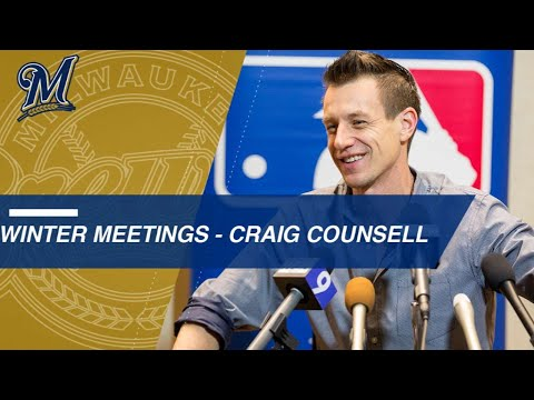 Counsell discusses Brewers at Winter Meetings
