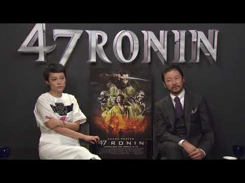 47 RONIN (2013) Junket Interview Rinko Kikuchi & Tadanobu Asano II