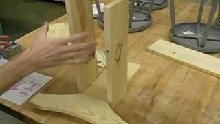 How To Make An Adirondack Side Table : Routing The Base For An Adirondack Side Table