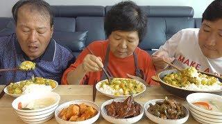 쓱쓱 비벼 맛있게 한 입 꿀꺽~ [[카레라이스(Curry with rice)]] 요리&먹방!! - Mukbang eating show