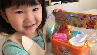 ごっこ遊びまとめ アンパンマン砂遊び 粘土遊び お皿洗いのおもちゃでママのお手伝い Pretend Play as a kitchen toy