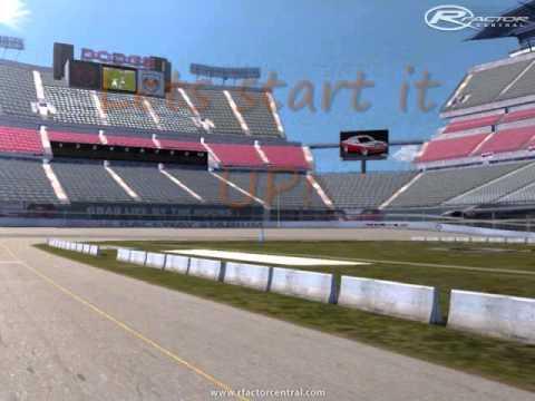 RCT3 Dodge Raceway Stadium - YouTube