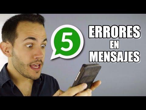 5 Errores De Como Llamar Su Atención Por Mensajes De Texto