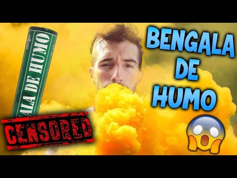 BENGALA DE HUMO A MAKIMAN MIENTRAS SE DUCHA