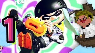 LOOK AT HOW CUTE SHE IS!! -🐙🔫🦑- Splatoon 2: Story Mode - Ep1