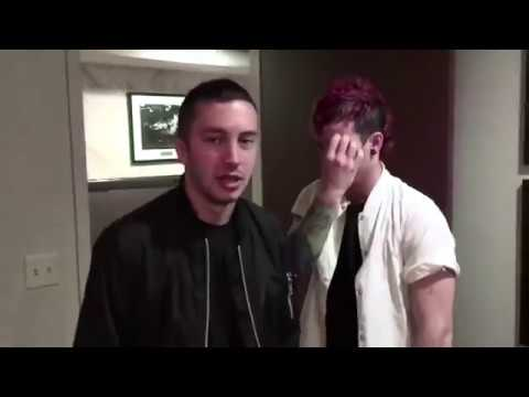 tyler and josh being EVIL and discriminating against innocent bananas