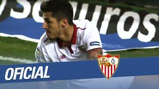 Jovetic lidera un nuevo triunfo del Sevilla