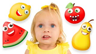 Fruits Song + More Children's Songs with Maya and Mary