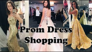 PROM DRESS SHOPPING 2019