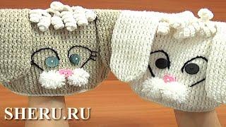 Crochet Hat for Kids Tutorial 1 часть 3 из 3 Как вязать детскую шапочку