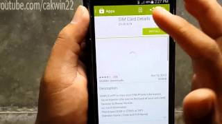 samsung galaxy s5 how to check iccid android phone