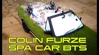 Colin Furze BMW Spa Car behind the scenes