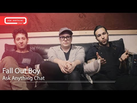 Fall Out Boy Talk About Andy Watching Patrick's Butt On Stage. Full Chat Here