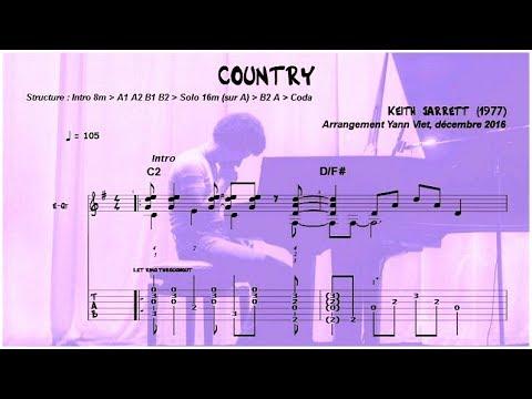 COUNTRY (Keith Jarrett, 1977 / guitar & arrangement Yann Viet)