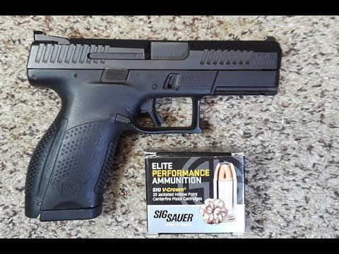 CZ P-10 C Pistol - Maybe The Best 9mm Pistol I Have Ever Shot !!!