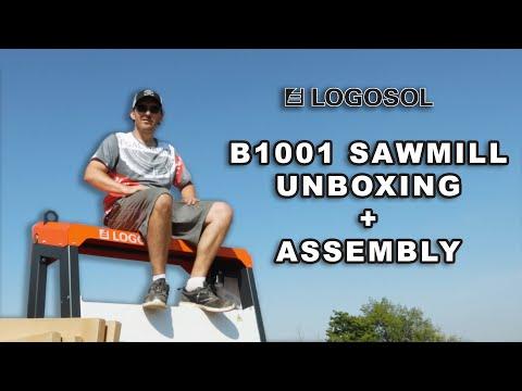 Logosol Sawmill Unboxing Final