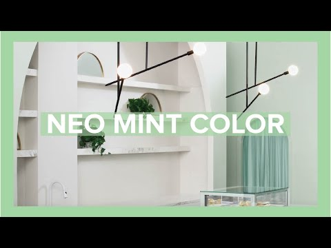 Mint the Spring/Summer 2020 Color Trend - YouTube