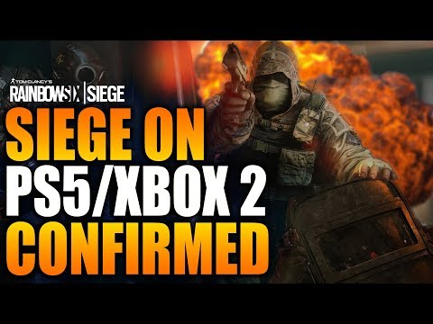 Rainbow Six Siege - In Depth: SIEGE ON PS5 / XBOX 2 - CONFIRMED - CROSS PLAY A MAYBE!