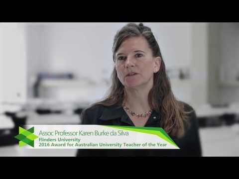 Associate Professor Karen Burke da Silva, Flinders University