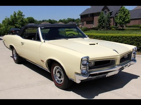 1966 Pontiac Gto Convertible For Sale Youtube
