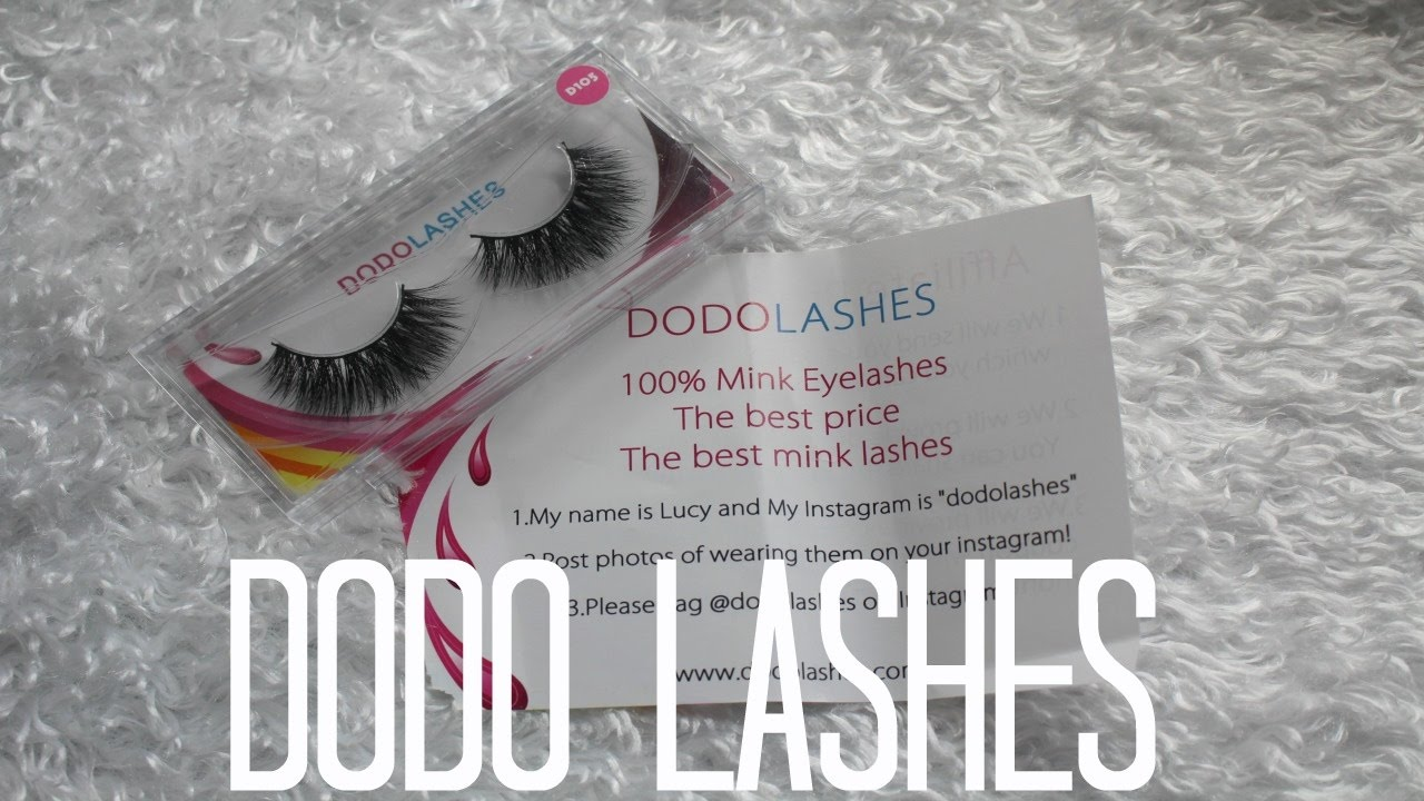 6254c3a9095 DODO Lashes - YouTube