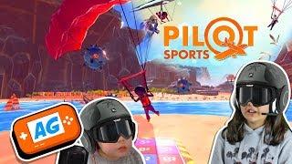 Somos PILOTOS en Pilot Sport Mini Juegos para Nintendo Switch 🛩