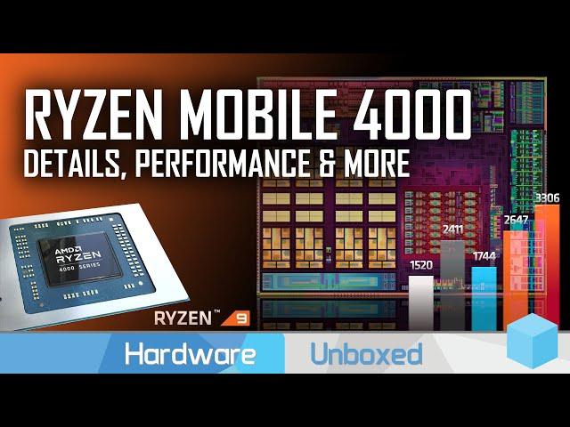 AMD Details Ryzen Mobile 4000: Performance, Architecture, Features, Ryzen 9 4900H