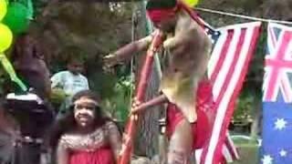 Animal Sounds on Didgeridoo Demonstrated by Ryka Ali
