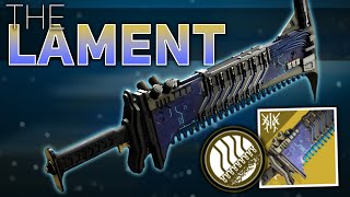 The Lament Exotic Review (CHAINSAW SWORD) | Destiny 2 Beyond Light
