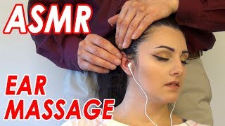 ASMR Ear Massage | Real Person | Internal Microphones