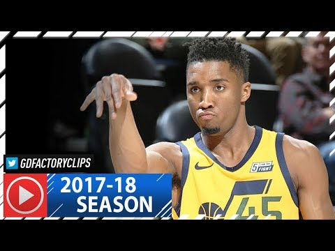 ROTY Donovan Mitchell Full Highlights vs Clippers (2018.01.20) - 23 Pts, 7 Assists
