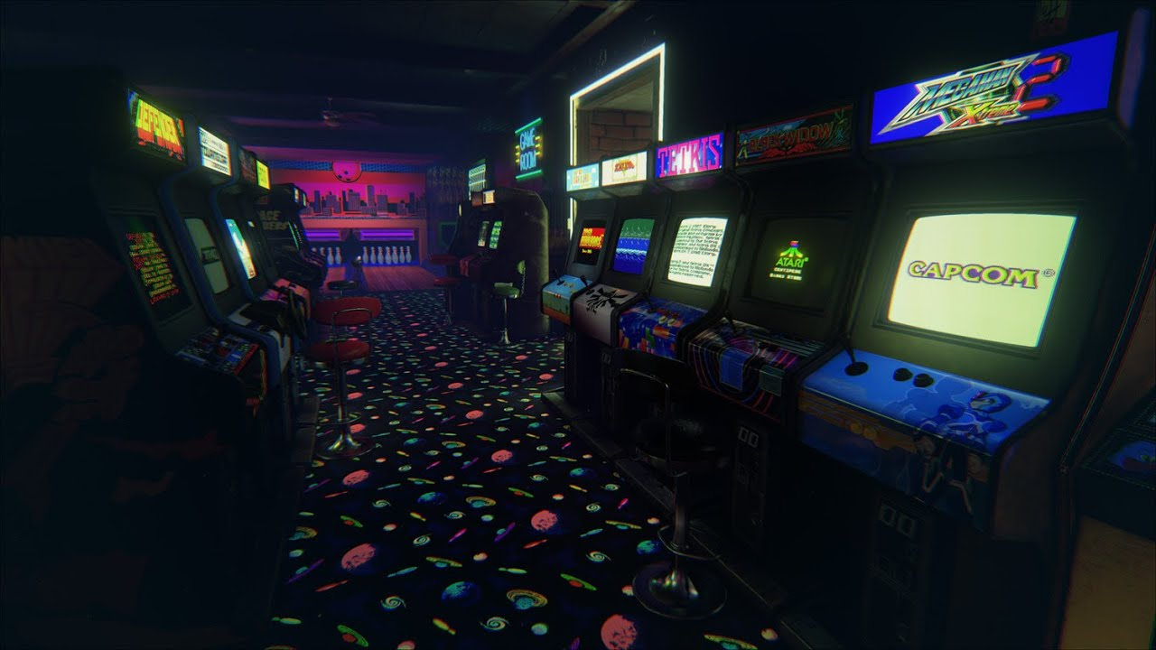 Newretroarcade Gameplay A Classic 80 S Arcade For The
