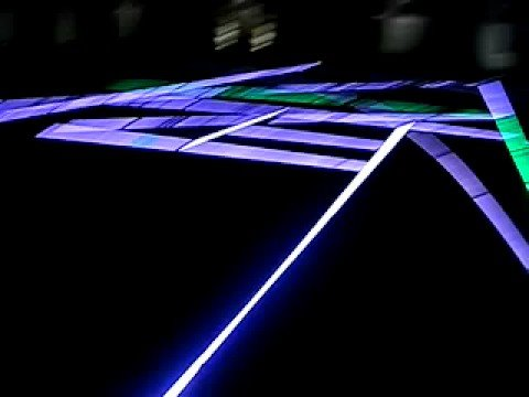 lights installation at chelsea college