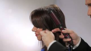 Stylus How-To: Body and Volume on Fine, Limp Hair Using a Thermal Brush